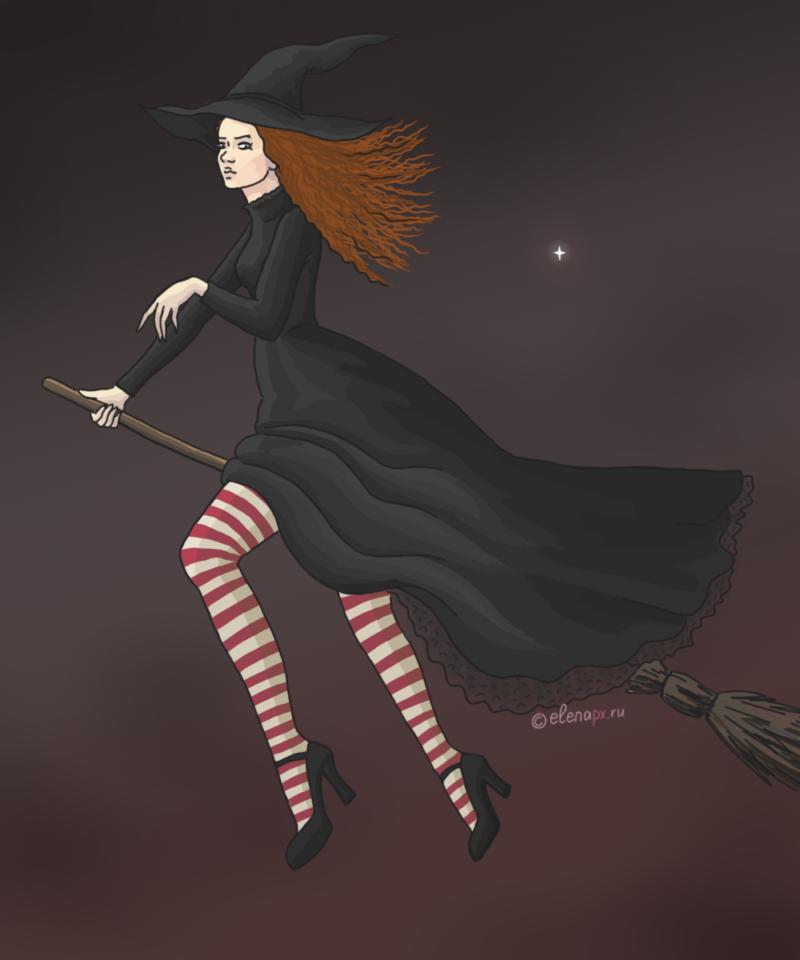 Картинка с ведьмой: по мотивам Пратчетта