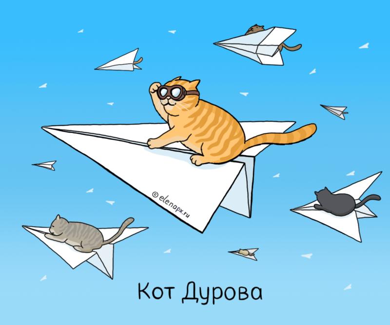 Картинка про блокировку Telegram
