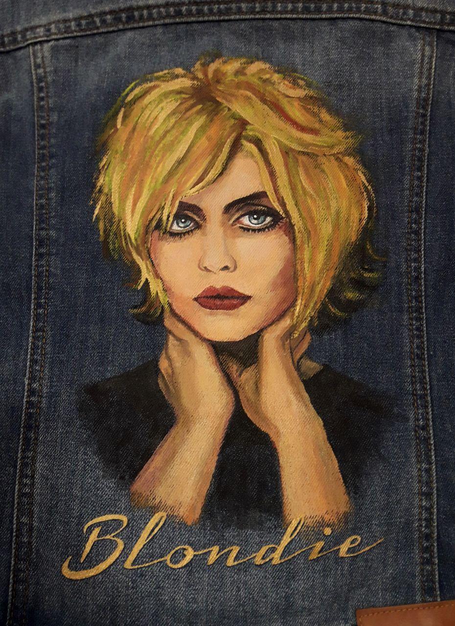 Blondie - портрет Debbie Harry